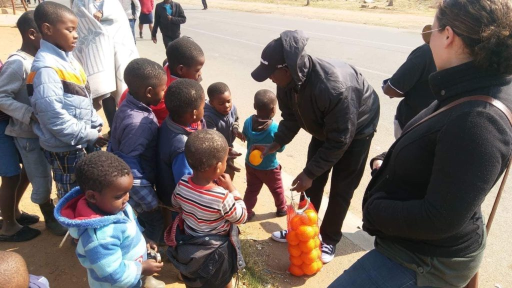 Ministry in Soweto, South Africa