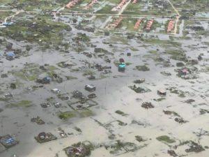 Devastation from Cyclone Idai